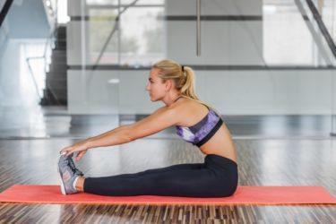 運動前のストレッチによる傷害の予防