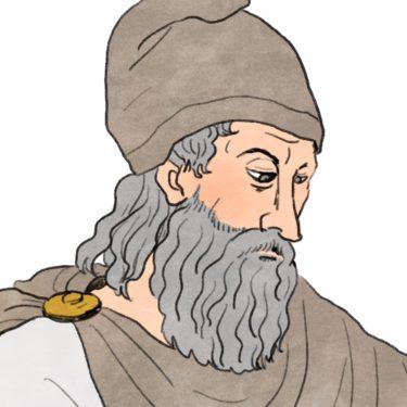 てこの原理を説明した『アルキメデス』
